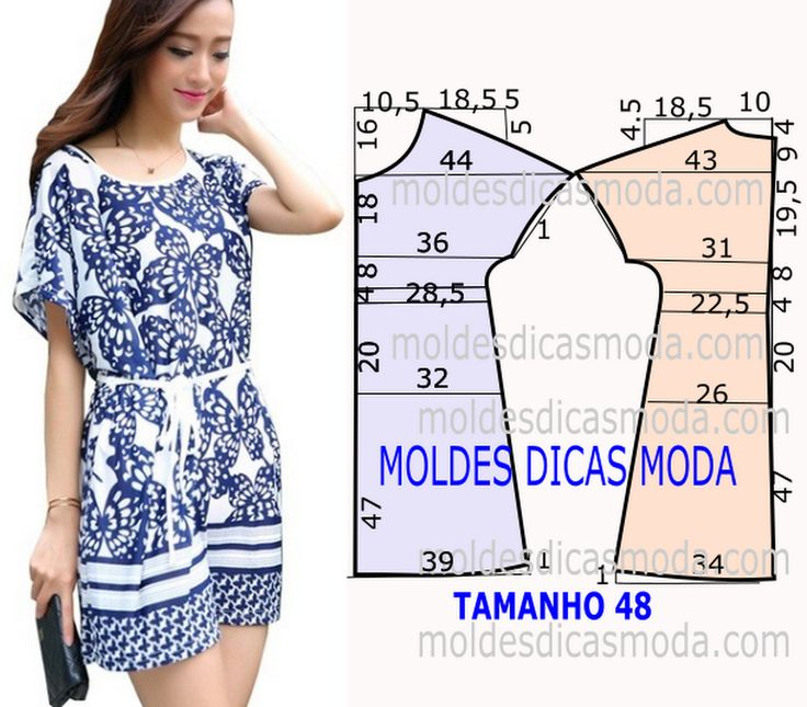 Vestido inspiração azulejo - Moldes Moda por Medida