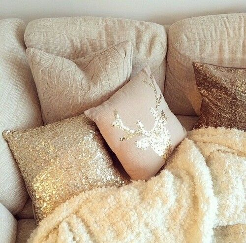 Beige, blush and gold