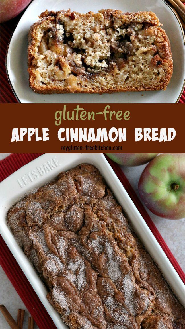 Gluten Free Apple Bread In 2020 Gluten Free Sweet Apple Cinnamon Bread Cinnamon Bread
