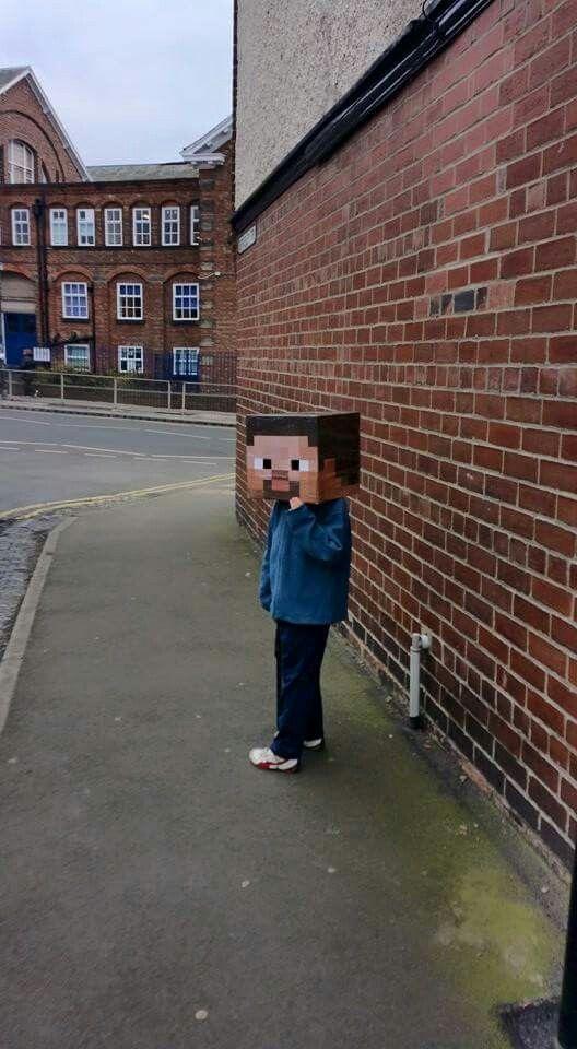 Costume Minecraft Steve Disfraz Minecraft Steve