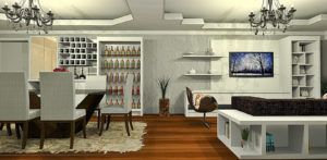 Wall Bar Designs For A Living Room