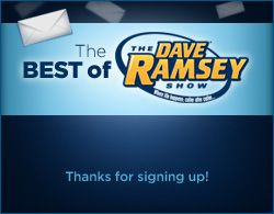 Listen to Dave Ramsey Online Live from 2-5 or archives any time.