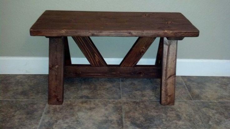 Foyer bench, pine $85