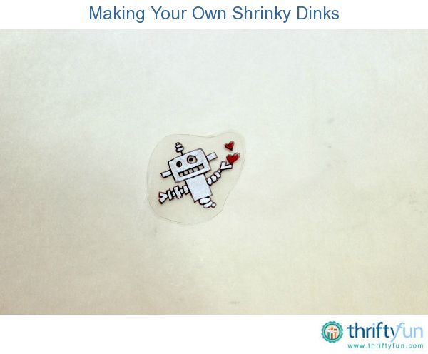 how to cook a shrinky dink