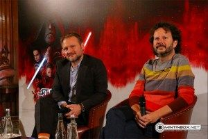 Mint In Box Attends 'The Last Jedi' Press Conference With Director Rian Johnson In Paris Star Wars Collection