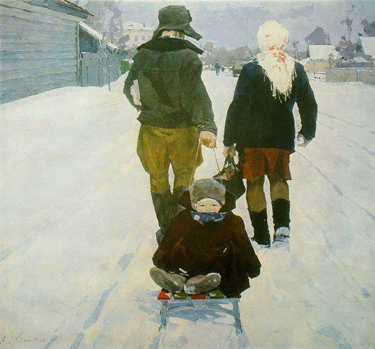 Ломыкин Константин Матвеевич. Народный художник Украины(1981г.)