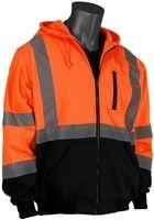New Products Hi Vis Workwear Safety Clothing Wholesale Hoodied Hi Vis Sweatshirt
