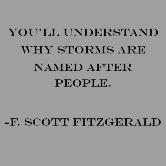 From The Beautiful and the Damned by F. Scott Fitzgerald. Love this quote.