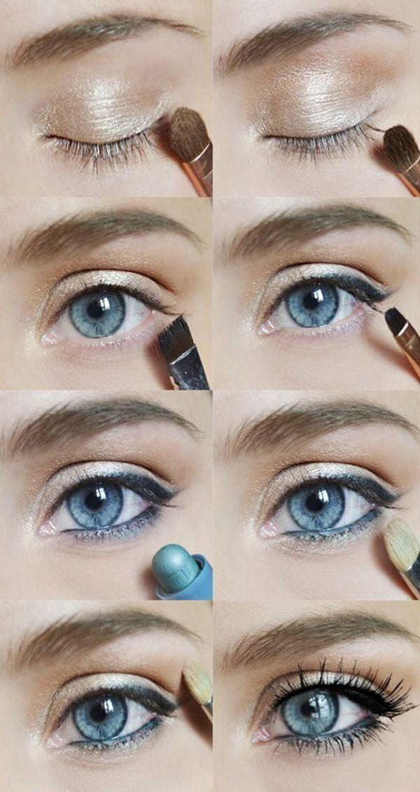 Tutoriales sencillos de sombra de ojos paso a paso para principiantes