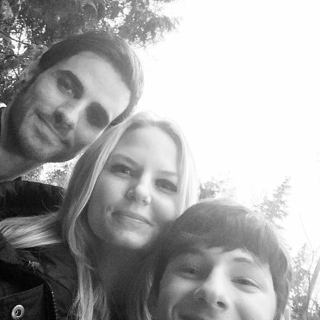 Day 74: hanging on set with two of my favorite dudes... #101smiles #uglyducklings