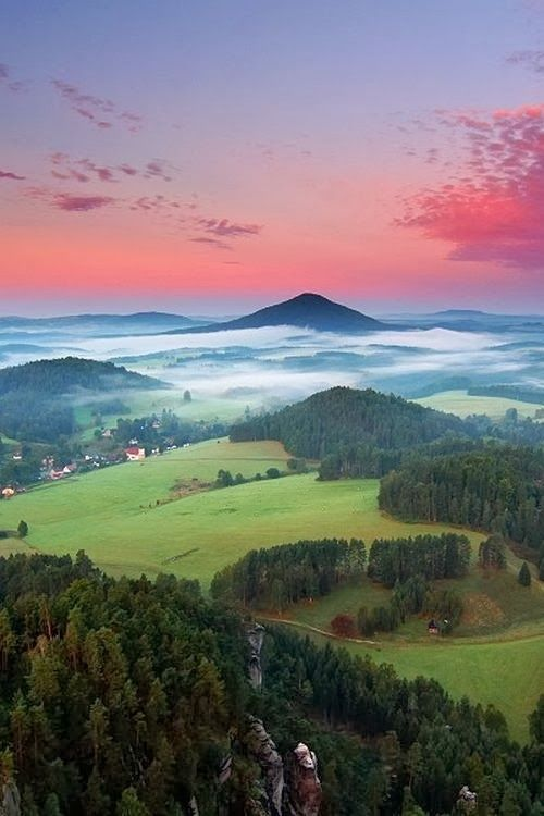 Bohemian Switzerland, also known as Czech Switzerland, Czech Republic