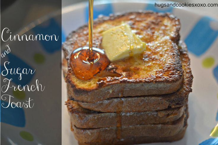 Gluten Free Cinnamon & Sugar French Toast