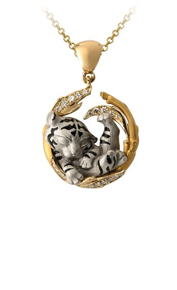 Magerit - Dreams Collection: Necklace Dream Tiger
