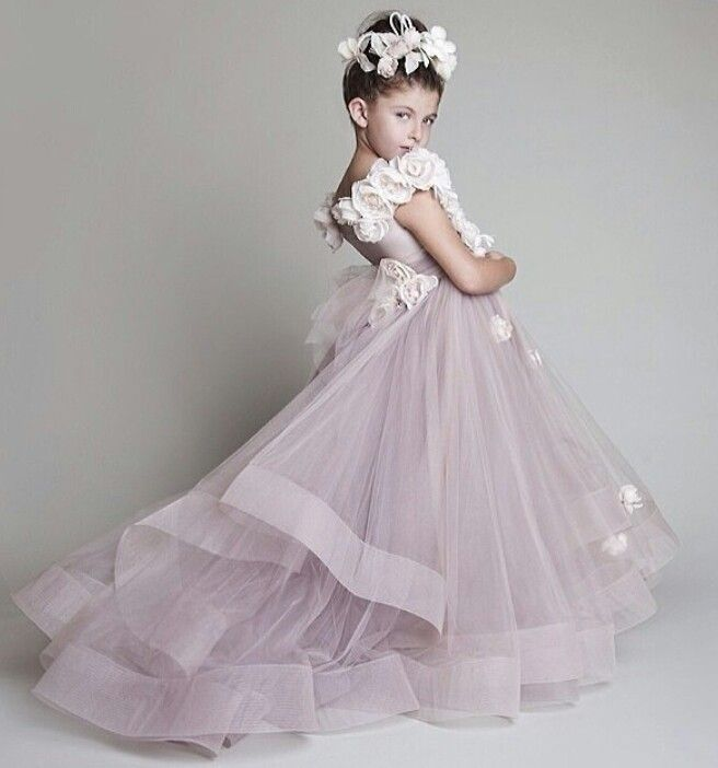 Little bride wedding dresses pinterest brides for Little flower girl wedding dresses