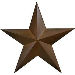 "Rusty 3D Tin Star 45"" - $116.49"