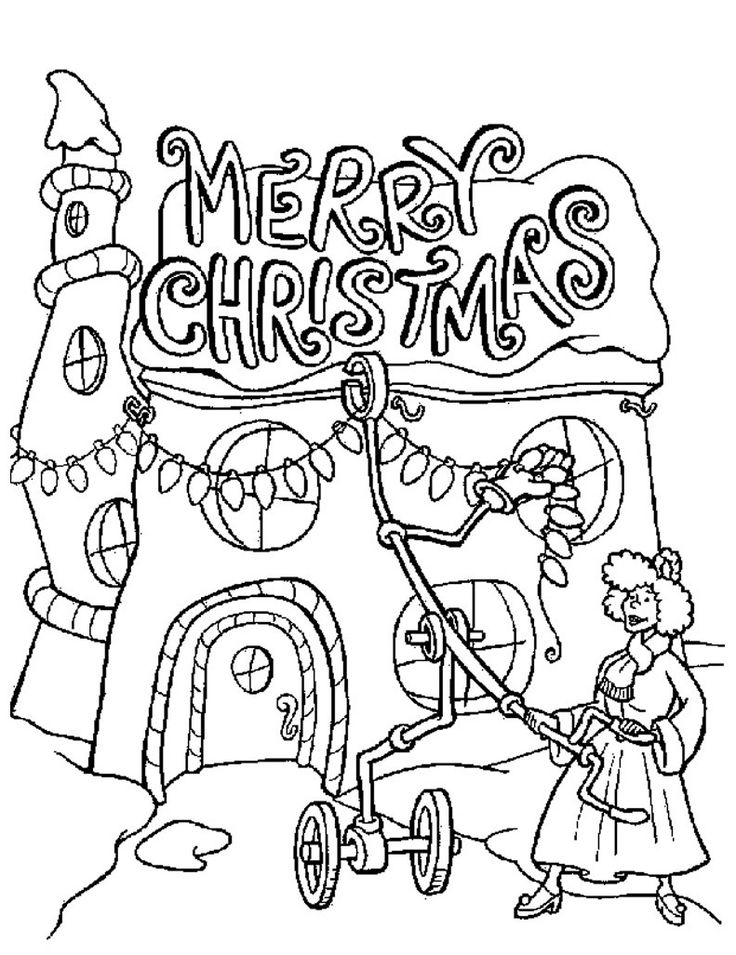 66 best Christmas images on Pinterest | Coloring books, Colouring ...