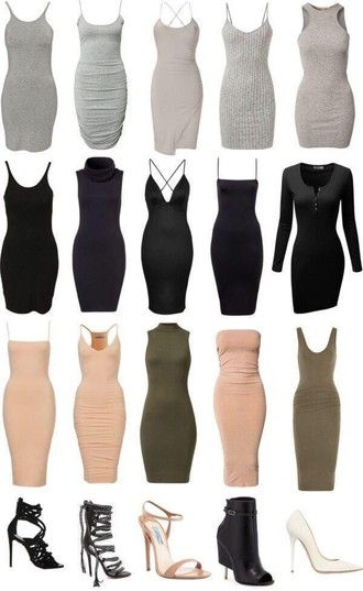kim kardashian style grey dress bodycon dress nude dress black dress