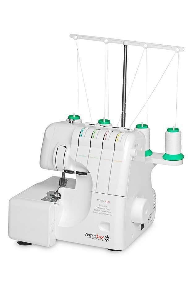 Оверлок это швейная машина, основное предназначение которой - обрезка и обработка краёв ткани при шитье изделий из сыпучих тканей. Модель AstraLux 822D превосходно справляется со всеми задачами, позволяет выполнять до 20 различных программ, обладает высокой скоростью шитья до 1250 стежков в минуту , быстро и легко прокладывает узкую оверлочную строчку, а еще очень прост и понятен при заправке нитей.  Обо всех технических особенностях модели вы можете узнать на нашем сайте по ссылке:…