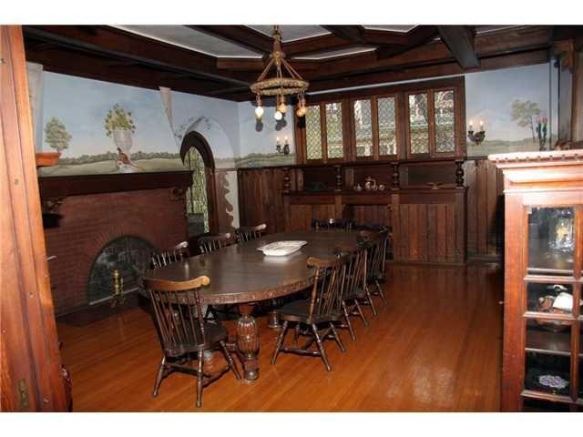 Breakfast Room 1901 Tudor Classic Toledo Ohio
