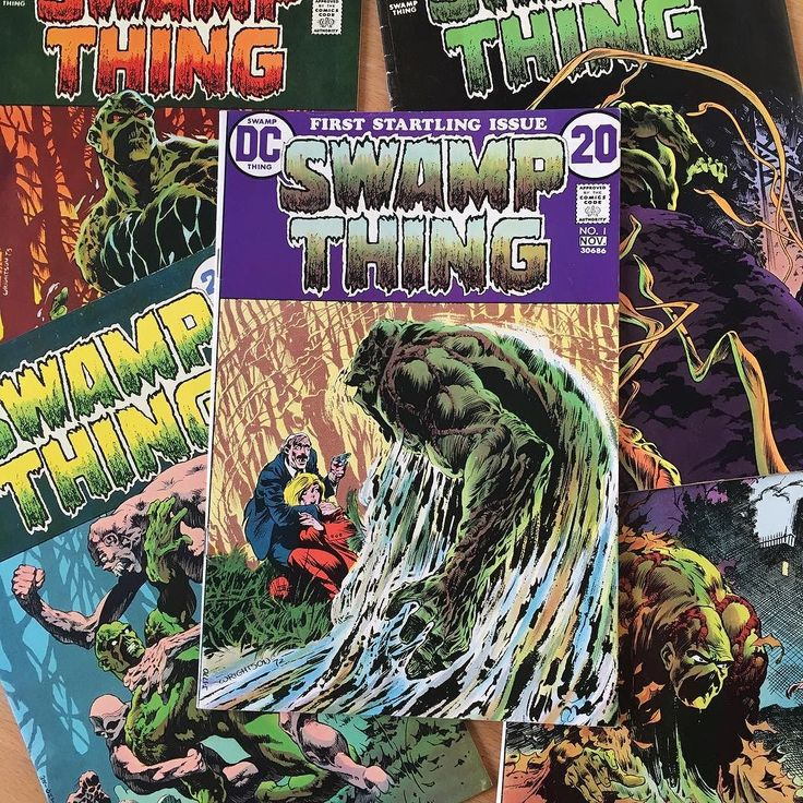 RIP Bernie Wrightson - a true monster master and one of my artistic heroes. First found his collaborations with Stephen King then became obsessed with his Swamp Thing covers/comics (and bought most of them in the early days of eBay). Thanks Bernie! #berniewrightson #swampthing