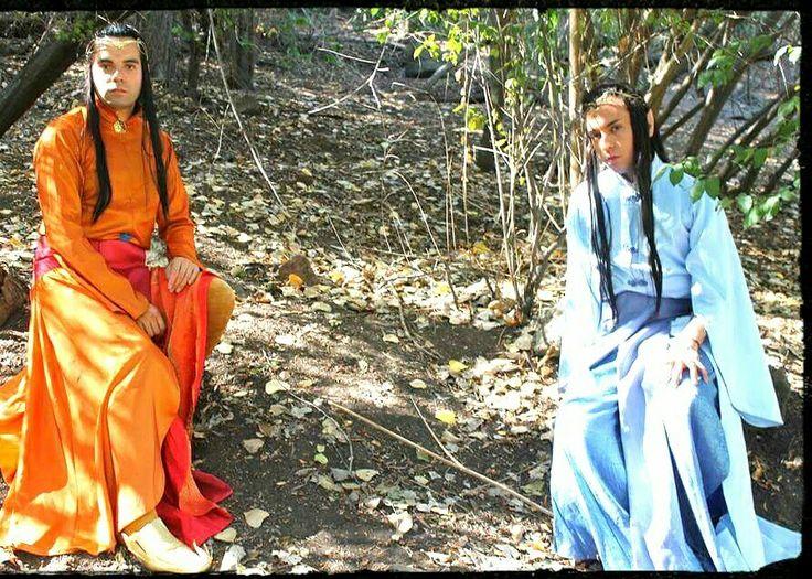 Elfos en lothlorien