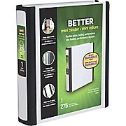 Buy Staples Better Mini 5.5 x 8.5 Inch 3-Ring View Binder, White (20949) at Staples' low price, or read our customer reviews to learn more now.