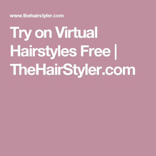 Pleasant 1000 Ideas About Virtual Hairstyles On Pinterest Virtual Hair Short Hairstyles For Black Women Fulllsitofus