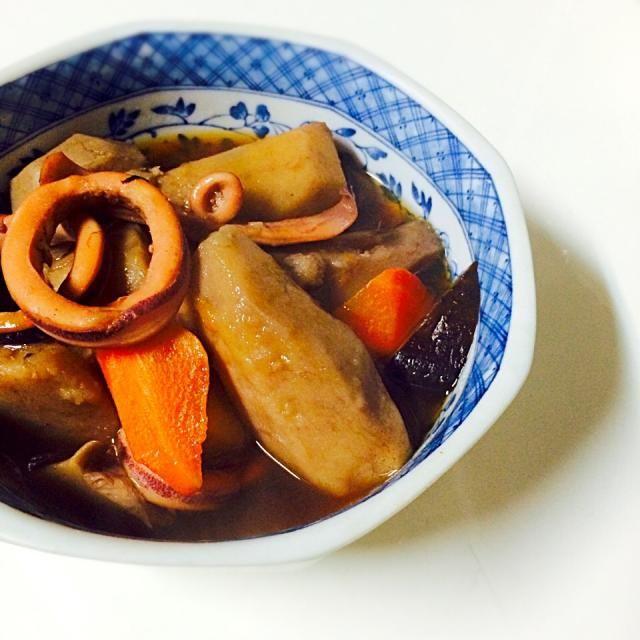 冬は里芋がおいしい! - 6件のもぐもぐ - 里芋とイカの煮物 by ばんちゃん