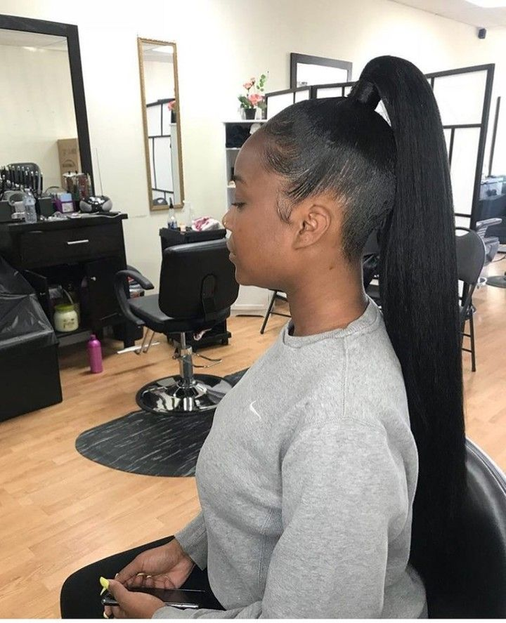 2 Colors 4 Styles Sleek Ponytail Easy To Install Sleek Ponytail Ponytail Wig Simple Ponytails