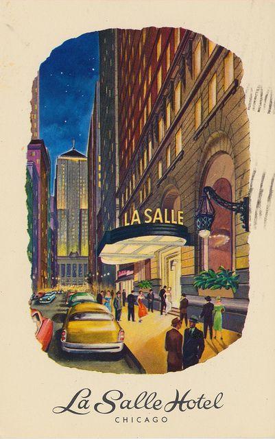 La Salle Hotel Chicago Illinois