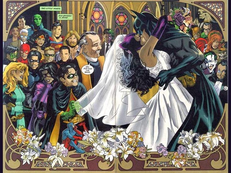Catwoman and Batman | Batman and catwoman, Batman wedding