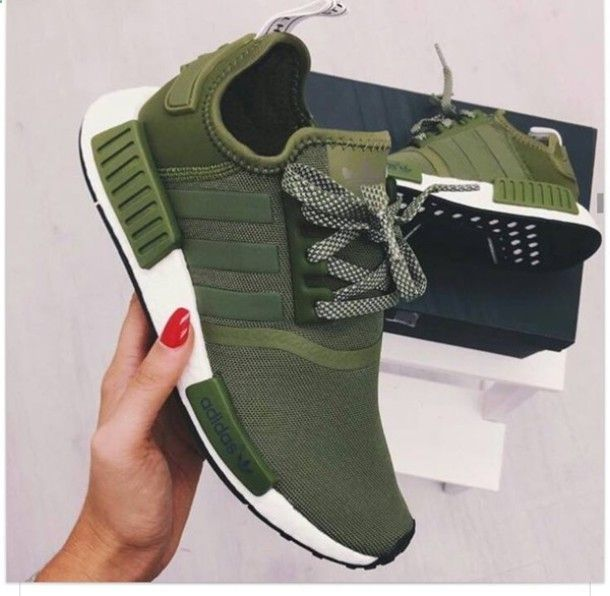 Adidas Women Shoes - shoes green adidas adidas olive green adidas green olive green adidas shoes sneakers army green trendy adiddas nmd ad adidas army green shoess woman shoes womens adidas shoes new khaki adidas tennis shoes adidas green adidas nmd r1 - We reveal the news in sneakers for spring summer 2017