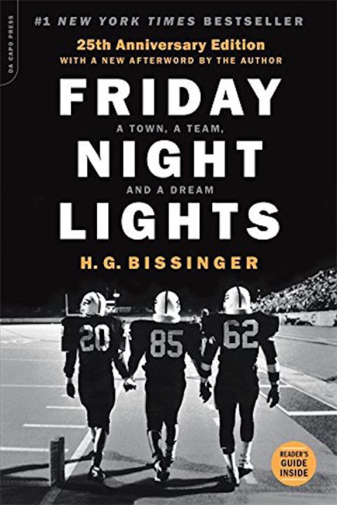 $11  BUY NOW    	The inspiration for the movie and TV series of the same name, Bissinger's Friday Night Lights takes a look at a Texas high school football team in a town that is obsessed with its program.