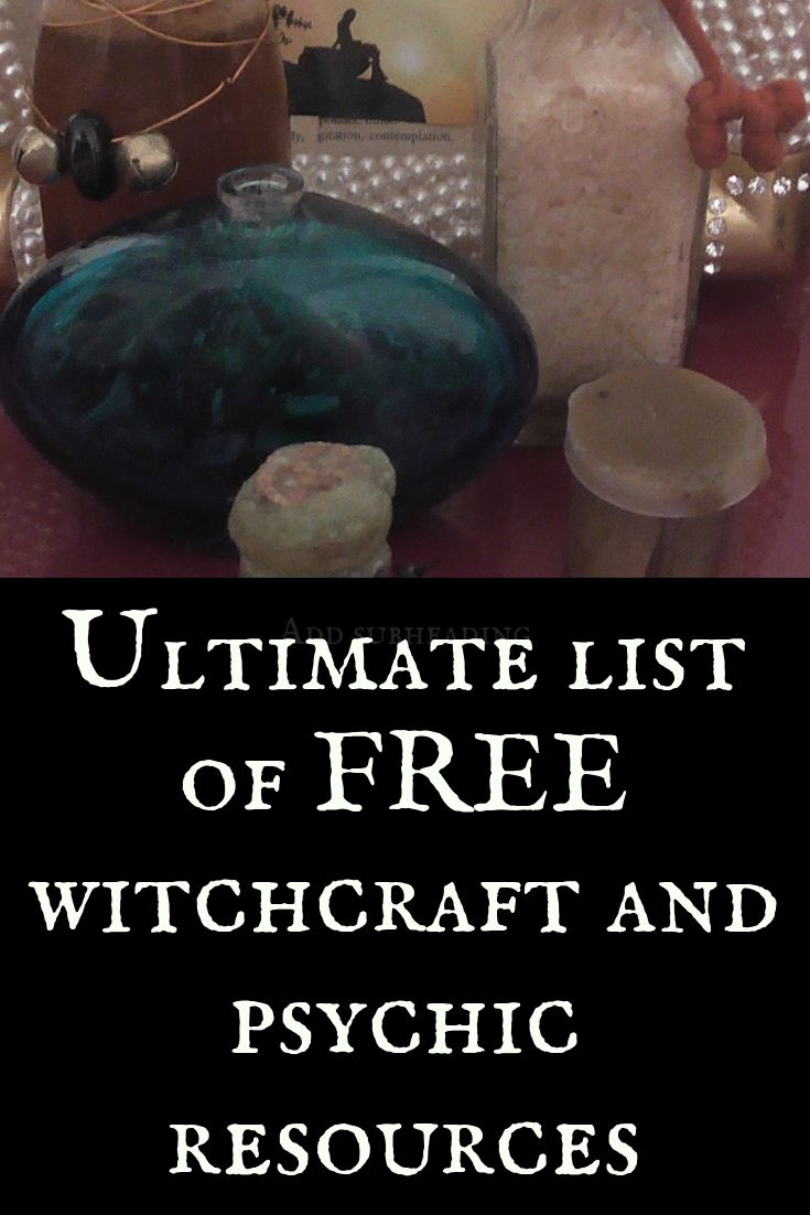 Ultimate List of Free Witchcraft Resources | Mystified