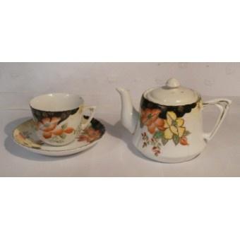 Minature Tea Pot and Cup & Saucer £8.50