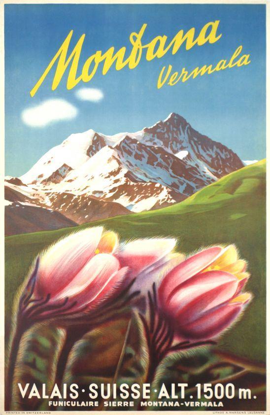 Montana Vermala, Valais Suisse, 1ère édition