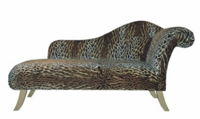 93 best chaise lounges images on pinterest chairs for Animal print chaise