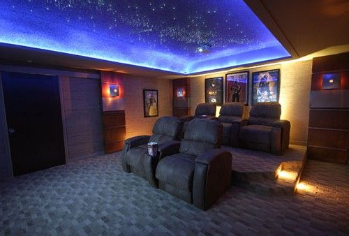 Pictures Of Home Theater Rooms: Best Modern Home Theatre Room Design Ideas: Wonderful Blu
