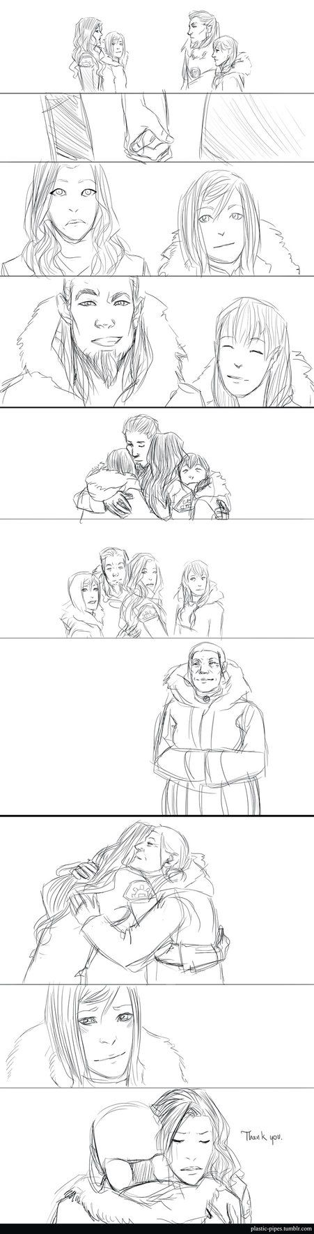 """""""Coming Home by plastic-pipes on DeviantArt"""" I love finding theses kinds of comic...strips."""
