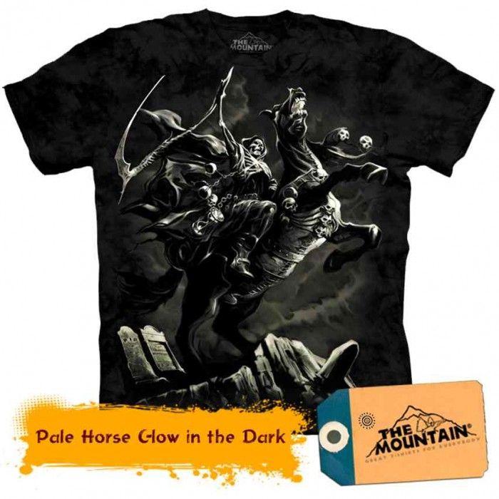 Tricouri The Mountain – Tricou Pale Horse Glow in the Dark Fantasy