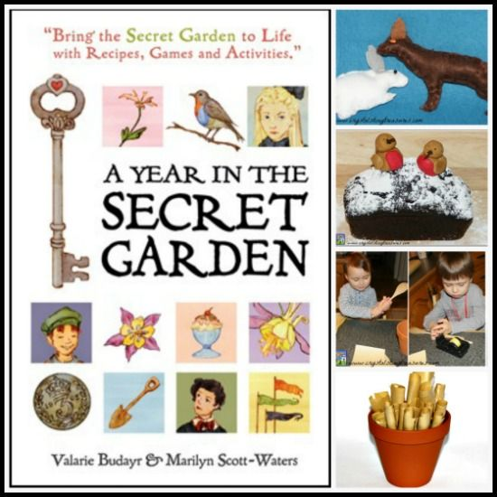 A Year In The Secret Garden is a very unique and special book. It's perfect for those who want to be crafty but don't know where to start.
