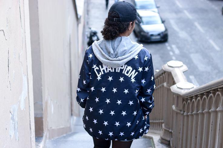 VESTE CHAMPION ET MOTIVATION // Julinfinity