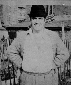 Jack The Hat McVitie. Murdered by Ronnie Kray in the Blind Beggar Pub, Whitechapel.