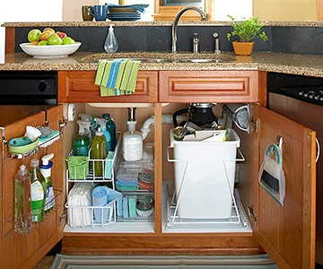 love this under the sink storage!! will be doing this for my sink very soon!