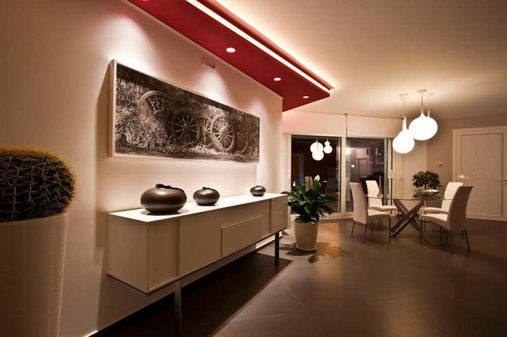 Casa L: Sala da pranzo in stile in stile Moderno di Laboratorio di Progettazione Claudio Criscione Design