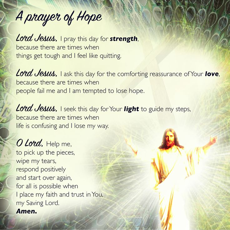 A prayer of Hope I read this prayer somewhere and loved to give it a new look, enjoy <3