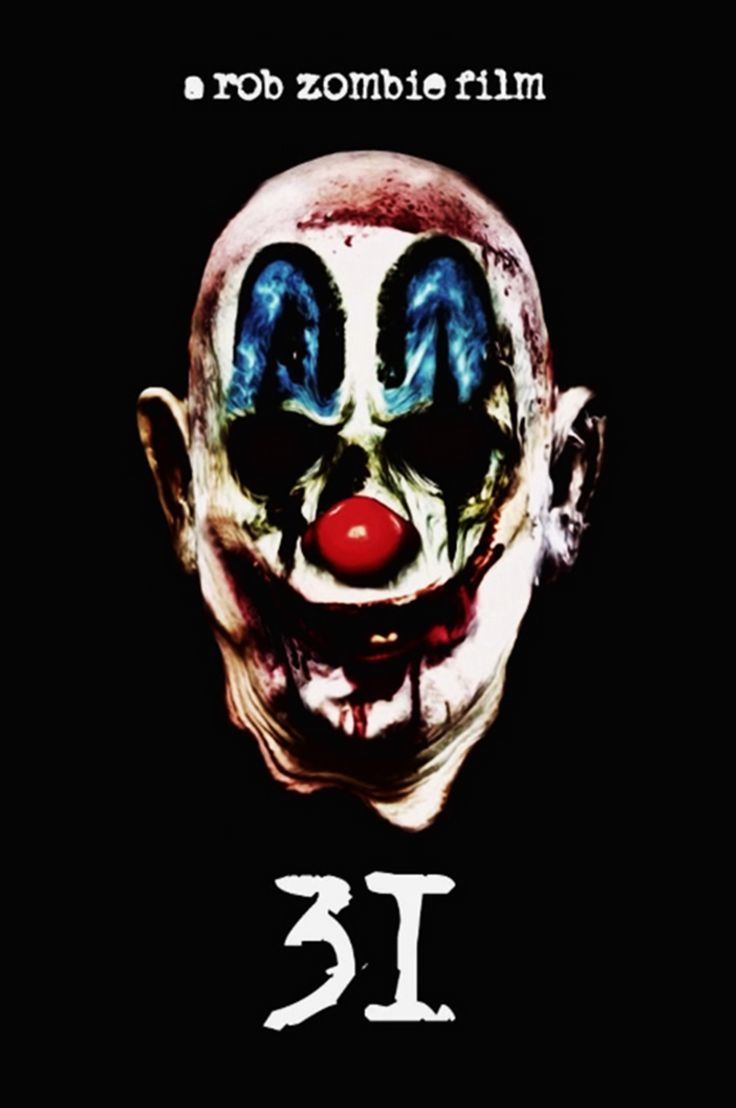 "Upcoming horror movie ""31"" written and directed by Rob Zombie is set to begin filming fall 2014 and expected release on 2015: Film is rumored to take place on Halloween and Rob Zombie says it will be nasty and brutal. LOVE me some Rob Zombie!!!!"