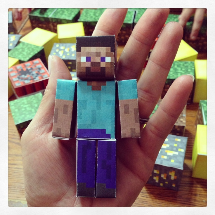 Find #minecraft party tips here! http://www.justtriyourbest.com/#!/minecraftparty/