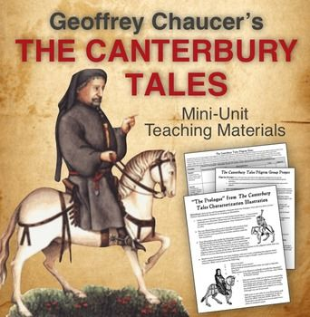 chaucers lessons in the canterbury tales An introduction to g chaucer's canterbury tales  three social classes feudal  system knight, squire, yeoman, franklin, miller, reeve,.