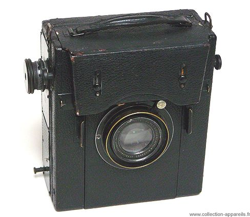 Bentzin Klapp Reflex Vintage cameras collection by Sylvain Halgand. 1911